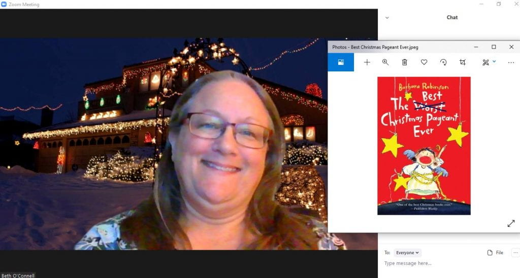 Mrs. O'Connell on Zoom