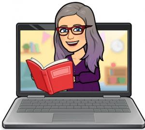 Bitmoji - Reading eBooks